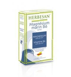 Herbesan Magnésium Marin Vitamine B6 20 Ampoules de 15Ml pas cher