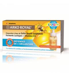 Arko Royal Défenses Naturelles Enfants 5 Doses de 10Ml pas cher