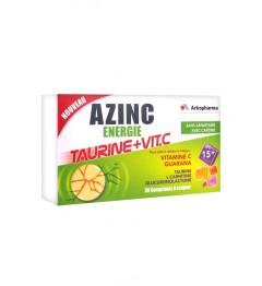 Azinc Energie Taurine Vitamine C 30 Comprimés à Croquer pas cher