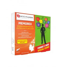 Forté Pharma Memorex 60 Gélules pas cher