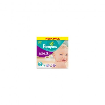 Pampers active fit taille 5 mega pack 68 couches - Couches pampers active fit taille 5 ...