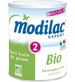 Modilac Bio 2ème Age 800 Grammes pas cher