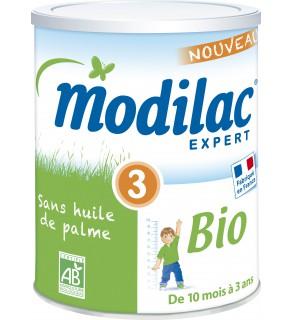 Modilac Bio 3ème Age 800 Grammes pas cher