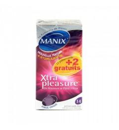 Manix Préservatif Xtra Pleasure Boite de 14