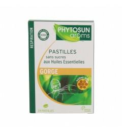 Phytosun Aroms Pastilles Sans Sucre Miel Boite de 24 pas cher