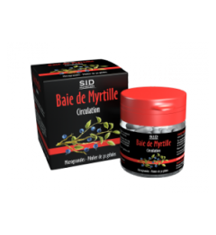 SID Nutrition Myrtille 30 Gélules