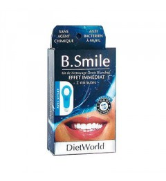 Dietworld B.Smile Kit de Nettoyage Dents Blanches
