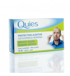 Quies Protection Auditive Silicone Cordelette pas cher