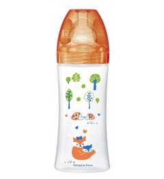 Dodie Biberon Sensation 330Ml Orange Forêt